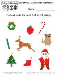free printable holiday worksheets kindergarten santa counting
