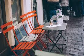 Coffe Shop Chairs Coffee Shop Tables Orange Chairs U2014 Bossfight
