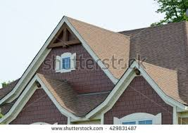 House Dormers Gable Dormers Roof Residential House Stock Photo 64149865