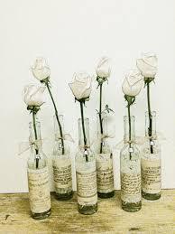 wedding vase wedding decor french country wedding flower bottle