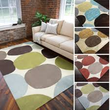 Large Modern Area Rugs Tufted Geometric Contemporary Area Rug 5 X 8 Free