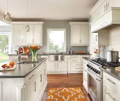 Painted Oak Kitchen Cabinets by Painted Oak Kitchen Cabinets Decora Cabinetry
