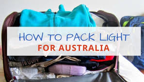 Travel Light images 23 packing tips for australia how to travel light in oz jpg