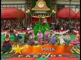 macy s thanksgiving parade 2009 shrek