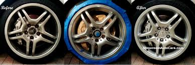 rim repair fix wheels paint brake calipers leather repairs