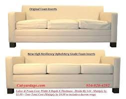 Foam Sofa Cushion Memory Foam Now Available In All Sizes Foam Sofa