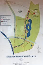 Map Of Burbank Ca Sepulvedabasinwildlife Org Sepulveda Basin Wildlife Reserve