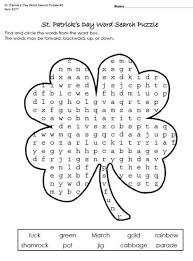 free st patrick u0027s day worksheets u0026 printables for kids math