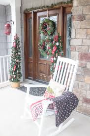 vintage lodge style front door decor discover