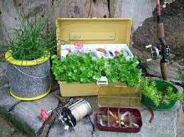 upcycled container garden ideas diy upcycled garden projects