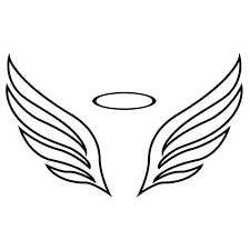 royalty free simple wing tattoos clip vector