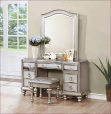 Silver Bedroom Furniture Sets by Makeup Vanity Whiteup Vanity Table Dressing Stool No Mirror