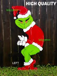 christmas srejh5g grinch stealingmas lights i made giant for my