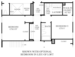 Firehouse Floor Plans by The Glen At Tassajara Hills The Maywood Home Design