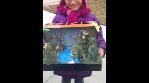 shoebox project how to make a rain forest in a shoe box