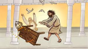 matthew 21 jesus cleanses the temple kids bible story kids bible