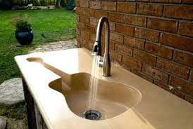 Outdoor Kitchen Sinks And Faucet Outdoor Kitchen Sinks Mydts520