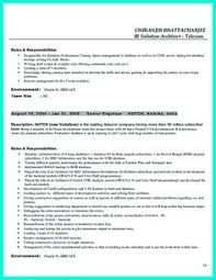 Professional Profile Resume Examples by Data Analyst Resume Will Describe Your Professional Profile