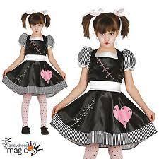 Killer Doll Halloween Costume Girls Rag Doll Costume Ebay