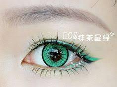 double violet color contact lens pair color contact lens v2