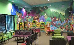 Pediatric Room Decorations Whimsical Jungle Themed Dental Office By Imagination Dental