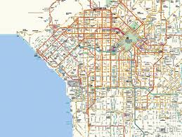 Map Of Downtown Los Angeles by Los Angeles Map Travel Map Vacations Travelsfinders Com