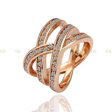 aliexpress buy beagloer new arrival ring gold 78 best rings images on austrian official