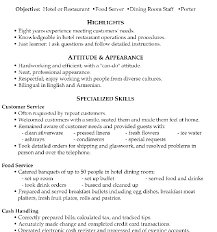 server resume objective examples manager resume summary by
