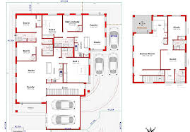 Basic Duplex Floor Plans Designs