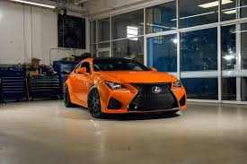 lexus rcf silver xf1 xo luxury wheels on orange lexus rc f u2014 carid com gallery