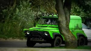 green land rover land rover defender bright green youtube