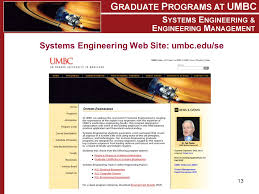 umbc u0027s systems engineering u0026engineering management welcome to