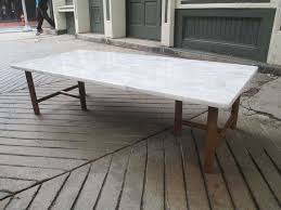 rectangular marble coffee table t h robsjohn gibbings for widdicomb marble and walnut coffee table