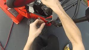 replace snow blower spark plug briggs and stratton youtube