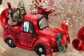 vintage truck ornament exclusively offers