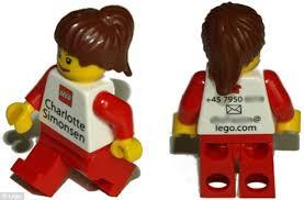lego business card lego executives use customized mini figurines