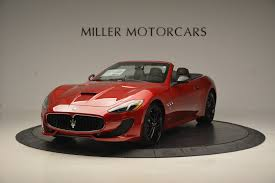 red maserati granturismo 2017 maserati granturismo sport special edition stock w376 for