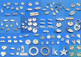 Custom Stamped Jewelry Wholesale Jewelry Brand Tags Custom Logo Engraved Jewelry Tags