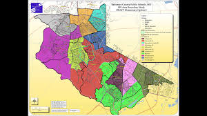 Map Of Baltimore Md Baltimore County Public Schools Southwest Area Boundary Study Maps