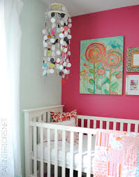 Moving Baby To Crib by Diy Homemade Circle Crib Mobile Jenna Burger