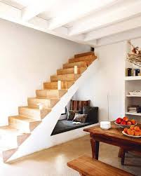 under stairs ideas saving small spaces with reading nook under stairs