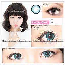 eos candy blue colored contacts pair wm208 blue 19 99