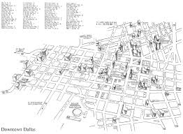 Dallas Map by Map Of Downtown Dallas For The Curious Conventioneer U2014 1962