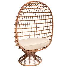 bamboo chair enclosed bamboo canopy chair with upholstered seat cushion for sale