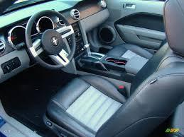 2008 Black Mustang 2008 Vista Blue Metallic Ford Mustang Gt Cs California Special