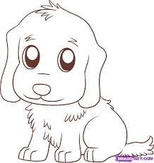 golden retriever puppy coloring pages printable kids coloring