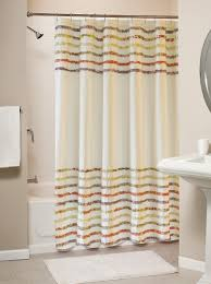 Frilly Shower Curtain Shower Curtains Thecurtainshop Com