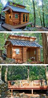 Cabins Designs A Beautiful Tiny House Cabin In Sonoma California Cabin At The