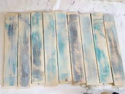 make new wood look like distressed barn boards