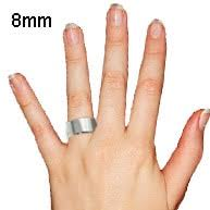 8mm ring accommodate your loved with their desired ring width to maximize